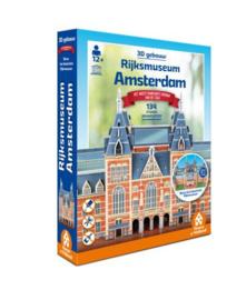 TFF 3D Gebouwen - Rijksmuseum Amsterdam - 134 stukjes
