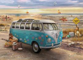 Eurographics 5310 - The Love & Hope VW Bus - 1000 stukjes