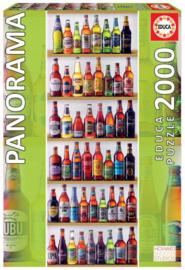 Educa - World Beers - 2000 stukjes  Panorama