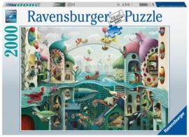 Ravensburger - Als Vissen Konden Lopen - 2000 stukjes