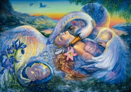 Grafika Josephine Wall - Leda and the Swan - 1000 stukjes