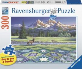 Ravensburger - Quilt met Hert - 300XL stukjes