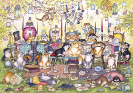 Gibsons 2717 - Mad Cattter's Tea Party - 250XL stukjes