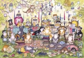 Gibsons 2717 - Mad Cattter's Tea Party - 250XL stukjes