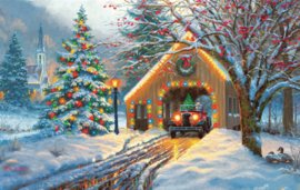 SunsOut 53052 - Christmas Crossing - 550 stukjes