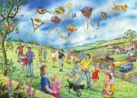House of Puzzles - Let's Go Fly a Kite - 250XL stukjes