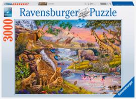 Ravensburger - Dierenrijk - 3000 stukjes