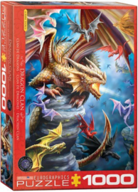 Eurographics - Dragon Clan - 1000 stukjes
