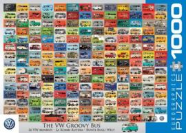 Eurographics 0783 - The VW Groovy Bus - 1000 stukjes