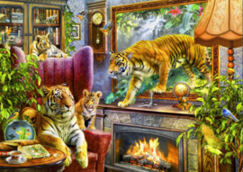 Bluebird - Tigers Coming to Life - 2000 stukjes