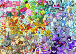 Ravensburger - Pokemon (Challenge) - 1000 stukjes