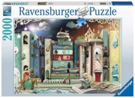 Ravensburger - Straat van de Romans - 2000 stukjes