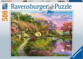 Ravensburger - Landhuis - 500 stukjes