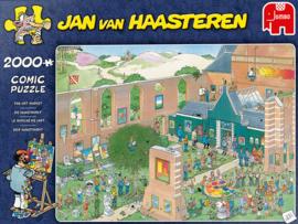 Jan van Haasteren - De Kunstmarkt - 2000 stukjes