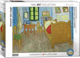 Eurographics Vincent van Gogh - Kamer in Arles - 1000 stukjes