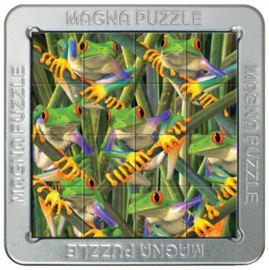 TFF 3D Magna Puzzle Small - Tree Frogs - 16 stukjes