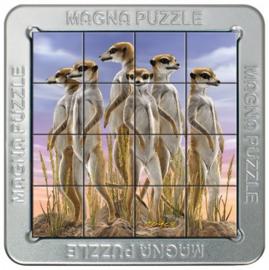 TFF 3D Magna Puzzle Small - Meerkats - 16 stukjes