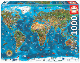 Educa - 's Wereld Mooiste - 1000 stukjes