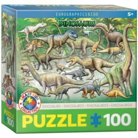 Eurographics 0098 - Dinosaurs - 100XXL stukjes