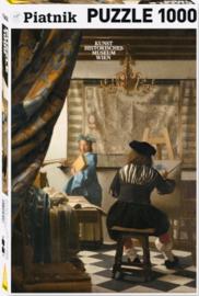 Piatnik Johannes Vermeer - De Schilderskunst - 1000 stukjes