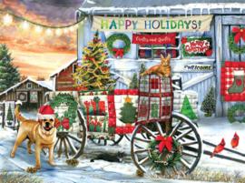 SunsOut 28707 - Holiday Wagon - 1000 stukjes