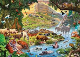 Eurographics 0980 - Noah's Ark Before the Rain - 500XL stukjes