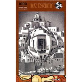Puzzelman M.C.Escher - Balkon - 1000 stukjes