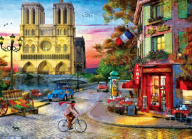 Eurographics 5530 - Notre Dame Sunset - 1000 stukjes