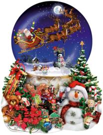 SunsOut 95302 - Santas Snowride  - 1000 stukjes Vormpuzzel
