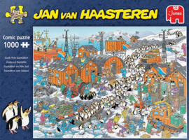 Jan van Haasteren - Zuidpool Expeditie - 1000 stukjes