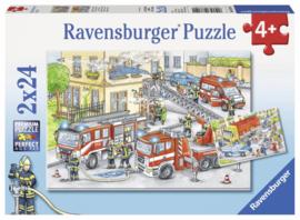 Ravensburger - Helden aan het Werk - 2X24 stukjes