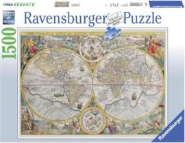Ravensburger - Wereldkaart - 1500 stukjes