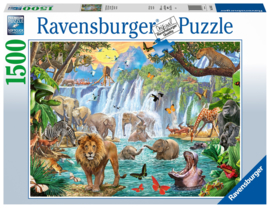 Ravensburger - Waterval in de Jungle - 1500 stukjes