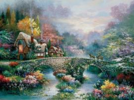 SunsOut 18040 - Peaceful Cottage - 300XL stukjes