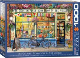 Eurographics 5351 - The Greatest Bookstore in he World - 1000 stukjes