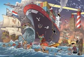 Puzzelman Jan Danker - Zeevaart - 1000 stukjes