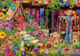 Bluebird - The Scarecrow's Garden - 1000 stukjes