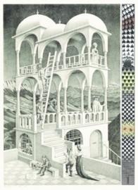 Puzzelman M.C.Escher - Belvedere - 1000 stukjes