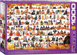 Eurographics 5416 - Halloween Puppies and Kittens - 1000 stukjes