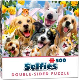 TFF Dubbelzijdige Selfie puzzel - Honden - 500 stukjes