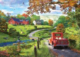 Eurographics 0968 - The Country Drive - 1000 stukjes