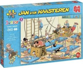 Jan van Haasteren - Apenkooien - 240 stukjes  JUNIOR