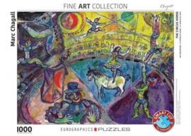 Eurographics Marc Chagall - The Circus Horse - 1000 stukjes