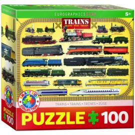 Eurographics 0090 - Trains - 100XXL stukjes