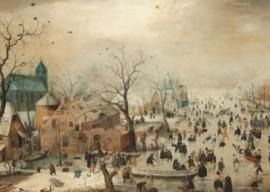 Puzzelman Hendrick Averkamp - Winter - 1000 stukjes