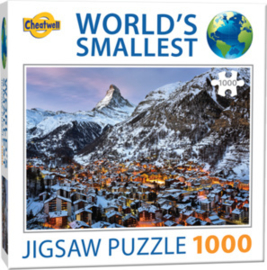 TFF World's Smallest - Matterhorn - 1000 stukjes Minipuzzel