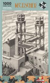 Puzzelman M.C.Escher - Waterval - 1000 stukjes