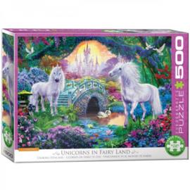 Eurographics 5363 - Unicorns in Fairy Land - 500XL stukjes