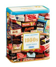 Gibsons 3830 - 1950's Sweet Memories - 500 stukjes Gift Tin