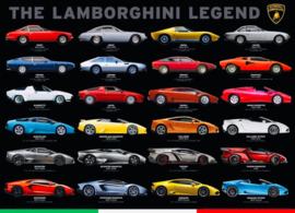 Eurographics 0822 - The Lamborghini Legend - 1000 stukjes